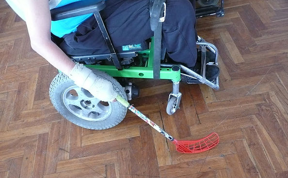 h-hokejka powerchair
