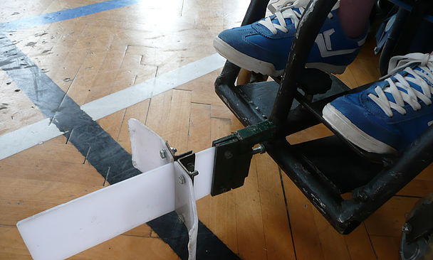 t-hokej powerchair